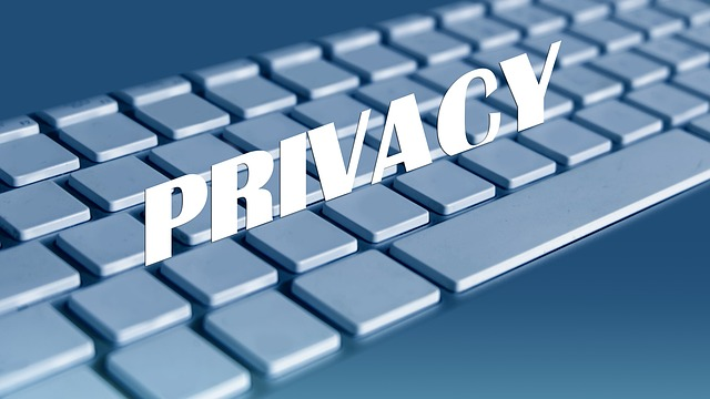klávesnice a soukromí