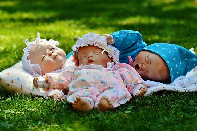spící panenky